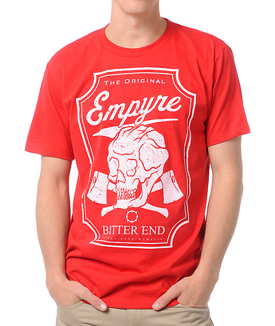Empyre Bitter End Red T-Shirt
