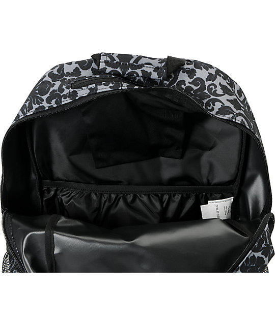 Empyre Black Floral Roll Call Laptop Backpack