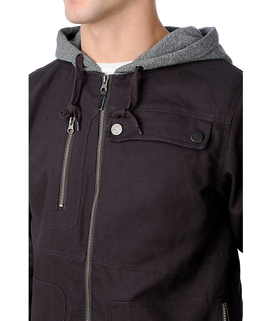 Empyre Blockade Canvas Charcoal Jacket