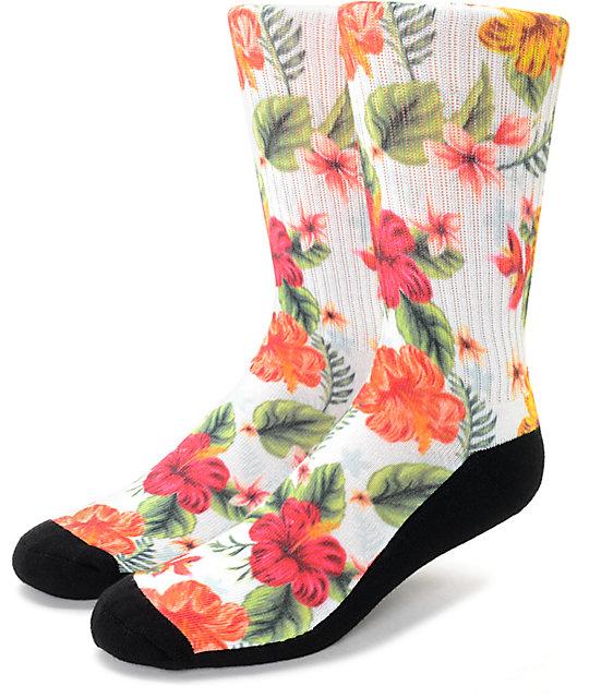 Empyre Bon Bon Tropical Crew Socks