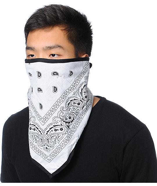 Empyre Boulder White Face Mask Bandana