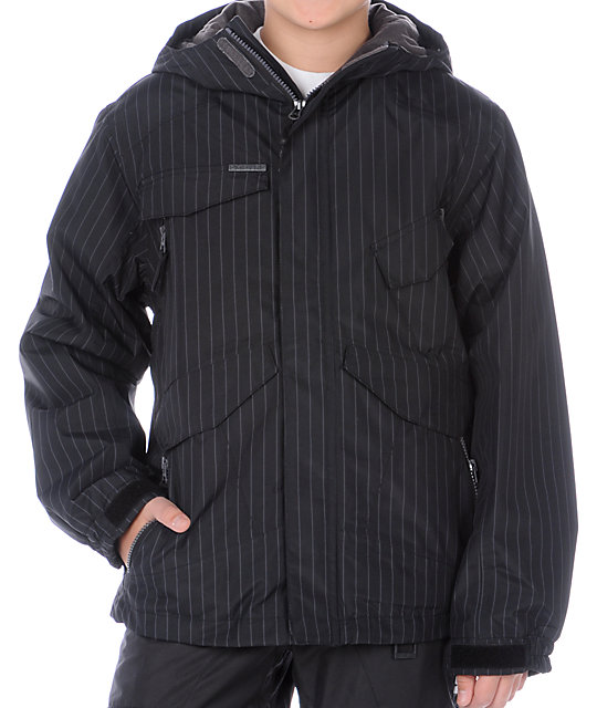 Empyre Boys Diversion Black Snowboard Jacket