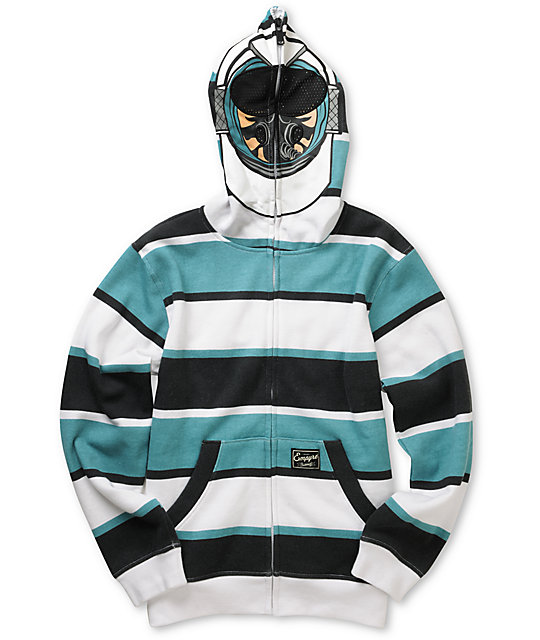Empyre Boys Goose Full Zip Face Mask Hoodie