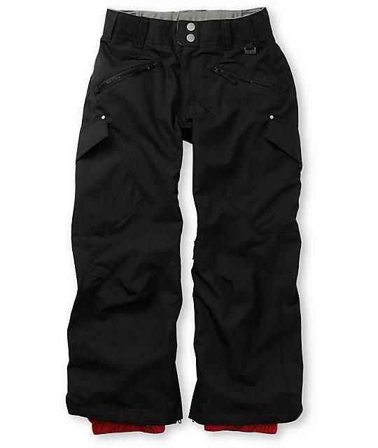 Empyre Boys Militia Black Snowboard Pants