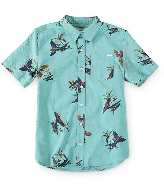 Empyre Boys Parrodise Button Up Shirt