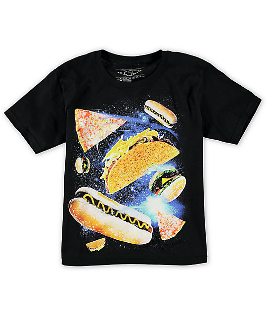 Empyre Boys Space Food T-Shirt