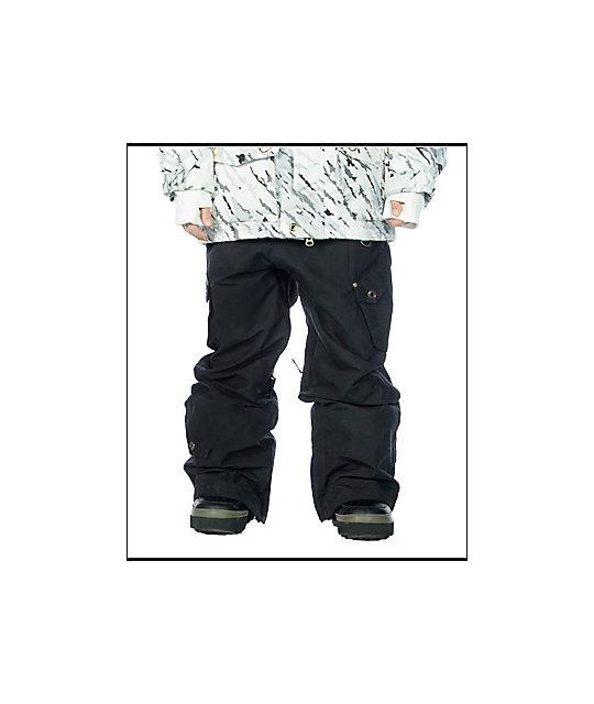 Empyre Boys Warhead Black Snowboard Pants