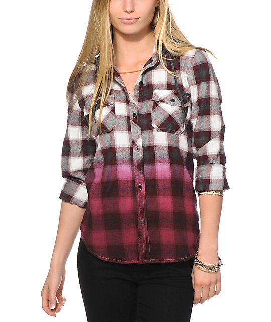 Flannel Shirt Womens