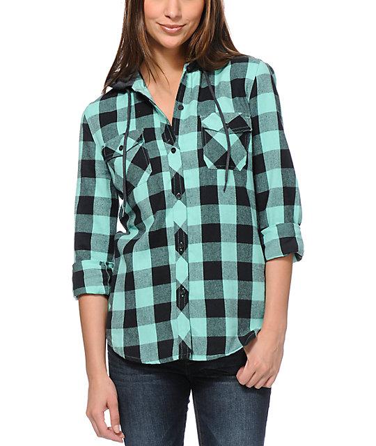 Buffalo Plaid Shirt Women