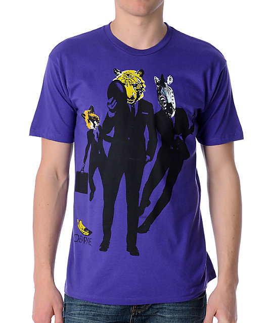Empyre Business Time Purple T-Shirt