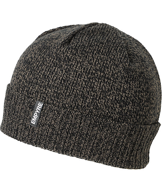 Empyre Cambridge Black & Grey Marl Beanie