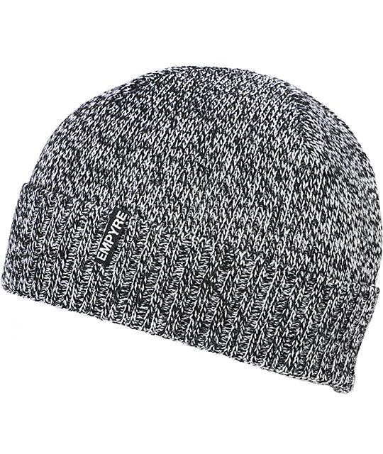Empyre Cambridge Black & White Marl Beanie