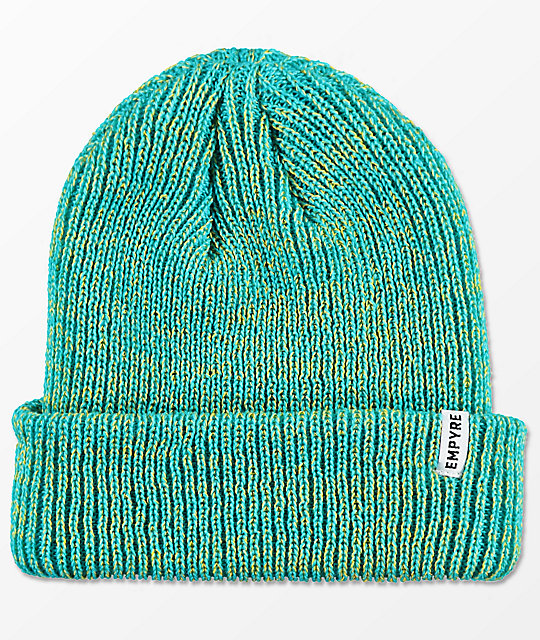 Empyre Carter Blue & Tonic Fold Over Beanie
