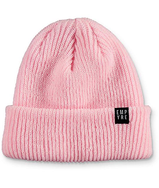Empyre Carter Soft Pink Beanie