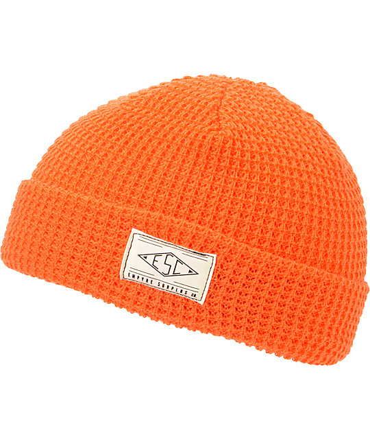 Empyre Cascade Orange Fold Beanie