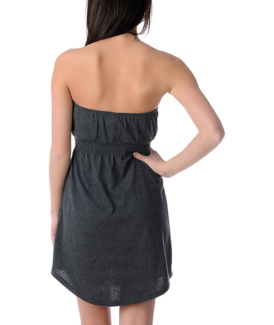 Empyre Charcoal Tube Dress