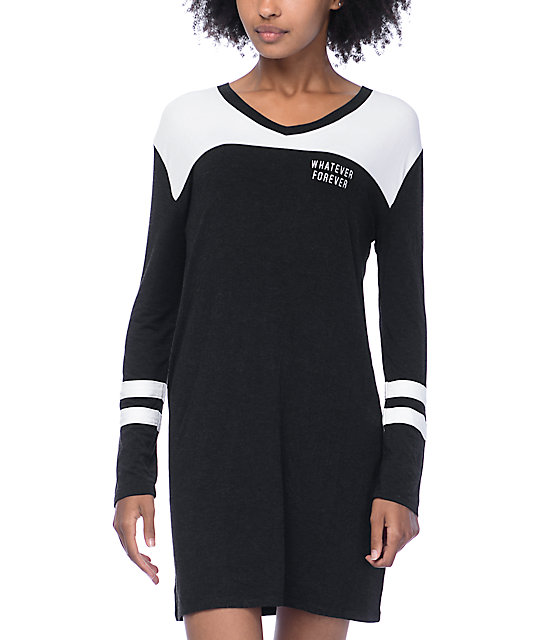 Empyre Coco Whatever Long Sleeve Black Dress