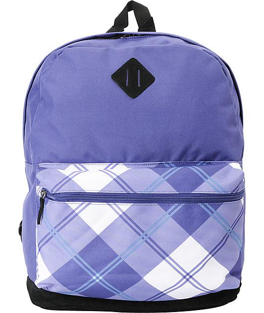 Empyre Colorblock LuLu Purple Backpack