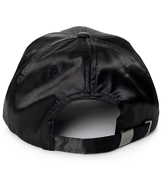 Empyre Cora Satin Black Baseball Hat