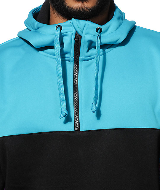 Empyre Countdown Half Zip Tech Fleece Hoodie
