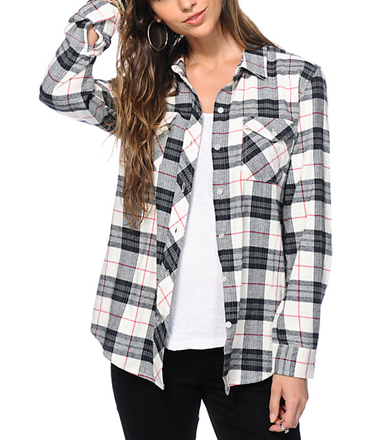 Black & White Plaid Flannel • Shirt. Black & White Plaid Flannel • Shirt. Skip to content. Submit. Close search. Shows Merch expand. collapse. Merch T-Shirts Tanks Hoodies/Sweats/Sweaters Jackets Hats Everything Plaid Other.
