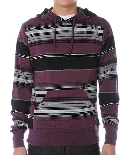 Empyre Cruiser Purple Knit Hoodie