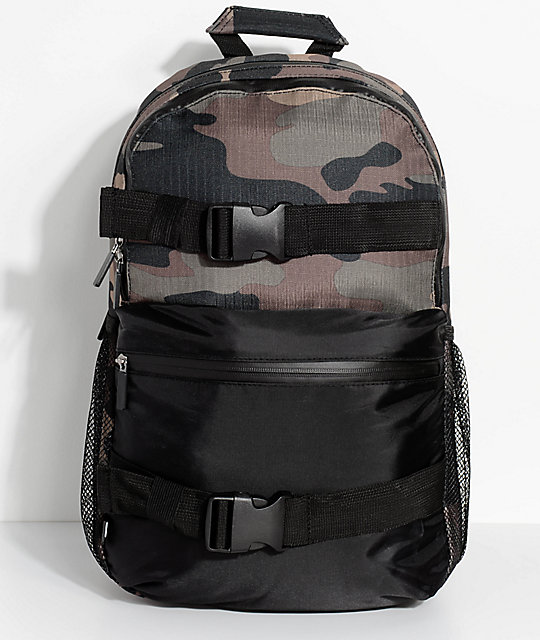 Empyre Dan Camo Skate Backpack