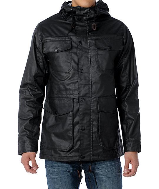 Empyre Dawn Patrol Black Wax Jacket