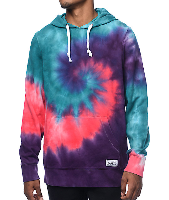 empyre deadhead bright tie dye hoodie at zumiez pdp. Black Bedroom Furniture Sets. Home Design Ideas