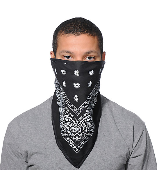 Empyre Denver Black Face Mask Bandana