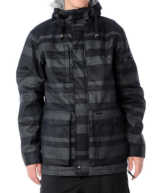 Empyre Drift Black Strap Jacket
