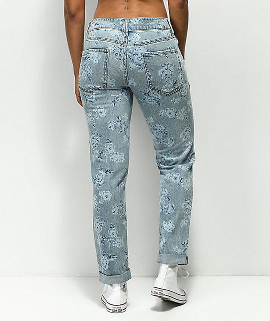 Jeans De Empyre Easton Desgastados Flores n0O8wPk
