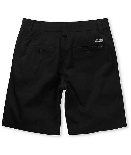 Empyre Elite Black Chino Shorts