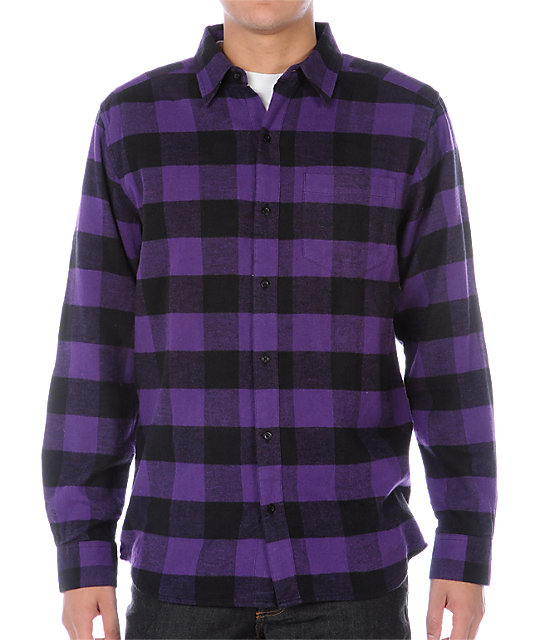 Empyre Excess Purple Flannel Shirt