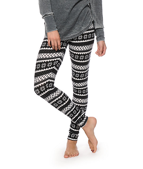 Empyre Fair Isle Sweater Leggings | Zumiez