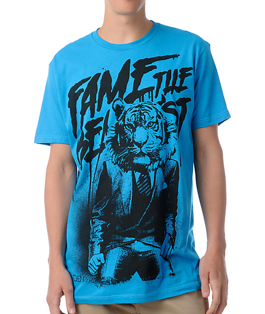 Empyre Fame The Beast Turquoise T-Shirt