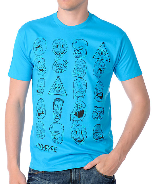 Empyre Family Reunion Turquoise Graphic T-Shirt