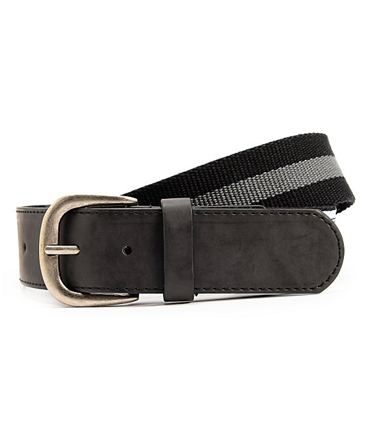 Empyre Fidelity Black & Charcoal Belt