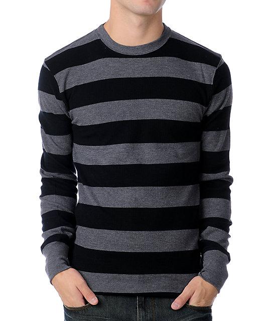 Empyre Flexor Black & Dark Grey Stripe Thermal