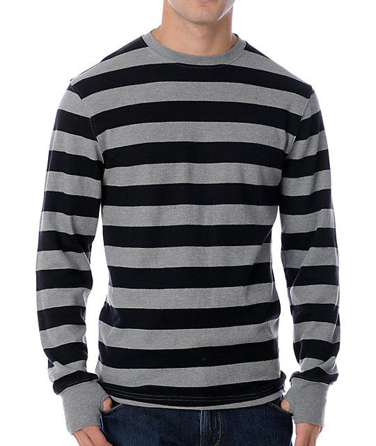 Empyre Flexor Black & Grey Stripe Thermal