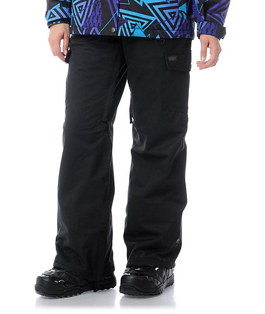 Empyre Free Roller Black 10K Snowboard Pants
