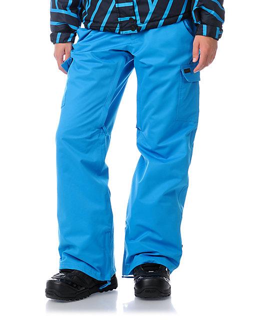 Empyre Free Roller Blue 10K Snowboard Pants