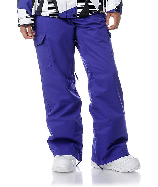 Empyre Free Roller Purple 10K Snowboard Pants