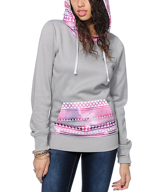 Empyre Frostier Galaxy Tribal Tech Fleece Hoodie