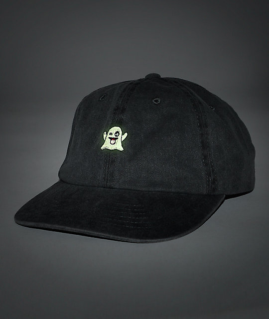 Empyre Ghosted Black Baseball Hat