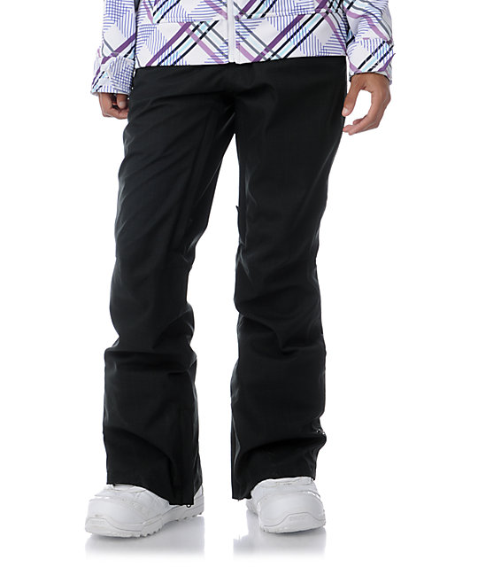 Empyre Glacier 10K Black Snowboard Pants