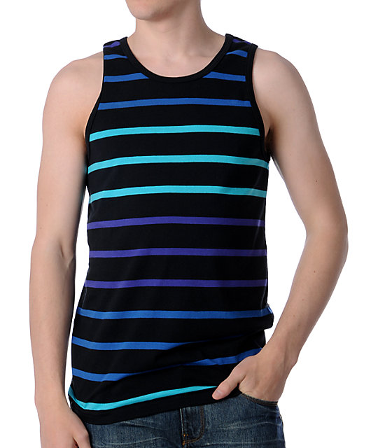 Empyre Global Black Stripe Tank Top