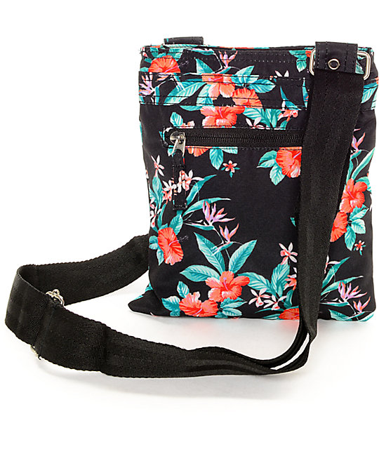 Empyre Gosslin Floral Black Bag