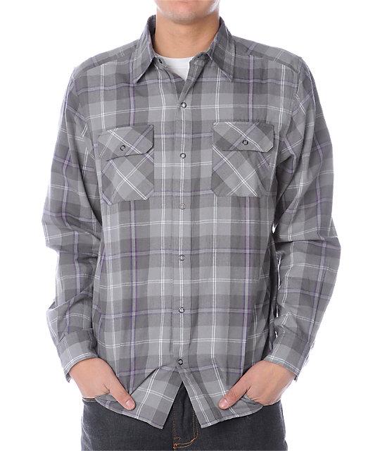 Empyre Grinder Grey Woven Shirt