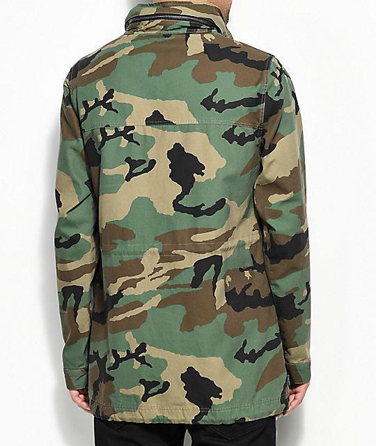 Empyre Gulfstream Military Camo Jacket | Zumiez